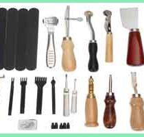 معرفی ابزار آلات کار با چرم
