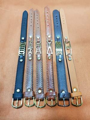 دستبند چرمی-ابزار و یراق چرمدوزی