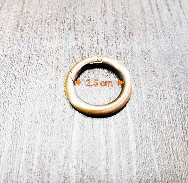 حلقه زردقلم 2.5