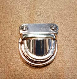 قفل ناخنی- ابزار و یراق آلات چرمدوزی